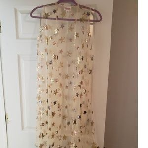 Rare! Small Lularoe Sequin Stars Joy